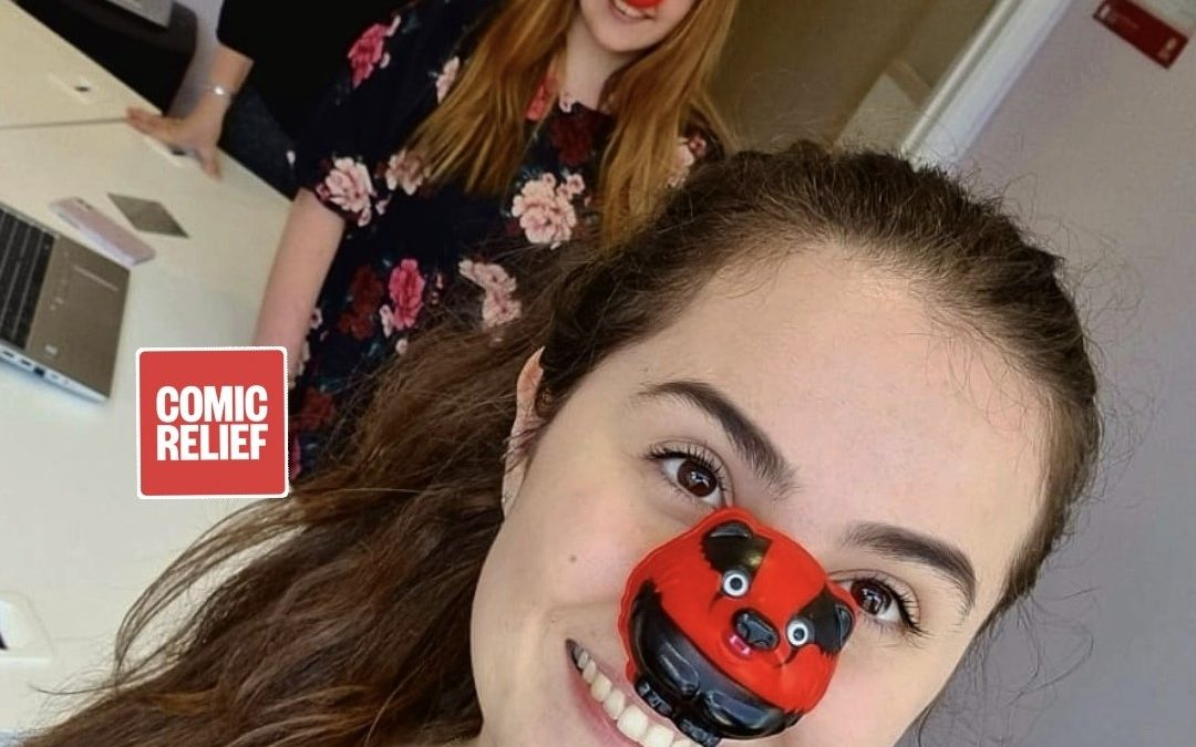 Happy Red Nose Day! 🦡🍅❤️